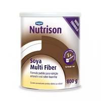 Suplemento de Nitrição Enteral Nutrison Soya Multi Fiber baunilha, 800g