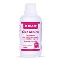 Óleo Mineral Icar frasco com 100mL