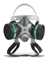 Respirador 1/4 Facial Alltec Mastt 2002 A duas vias, tamanho único