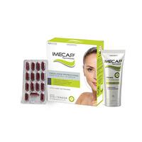 Kit Imecap Rejuvenescedor caixa com 30 cápsulas + creme facial, 35g