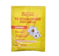 Pó Descolorante Farmax camomila, 20g