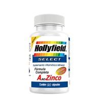 A ao Zinco Select Hollyfield 500mg, 3 frascos com 90 cápsulas cada