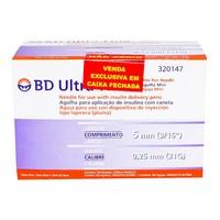 Agulha Descartável BD Ultra-fine mini, 5mm com 100 unidades