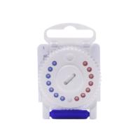 Estojo Filtro para Aparelho Auditivo Direito de Ouvir HF3 - protetor de cera com 8 peças, ref.4001