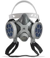 Respirador 1/4 Facial Alltec Mastt 2002 P2 - duas vias, tamanho único