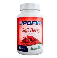 Goji Berry Lipofim frasco com 60 cápsulas