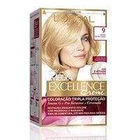 Tintura L'Oréal Imédia Excellence Creme n° 9 louro muito claro