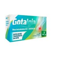 Gotalgia 250mg, caixa com 20 comprimidos
