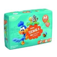 Fralda Baby Looney Tunes M, pacote com 44 unidades