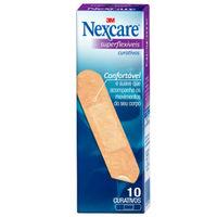 Curativo Nexcare Superflexível tradicional com 10 unidades