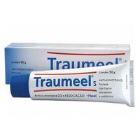 Traumeel S Pomada Bisnaga com 50g de pomada de uso dermatológico