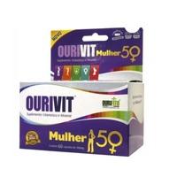 Ourivit Mulher 50+ 500mg, caixa com 60 cápsulas