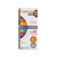 Compleximed B Gotas Frasco gotejador com 30mL de solução de uso oral