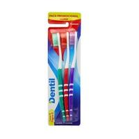 Escova Dental Dentil Premium média, leve 3 pague 2, sortidas
