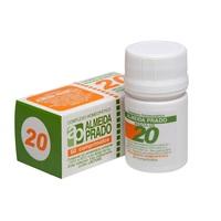 Complexo Homeopático Almeida Prado Nº 20 0,150g, frasco com 60 comprimidos