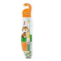 Escova Dental Infantil Topz Baby 0 a 3 anos, amarelo, 1 unidade