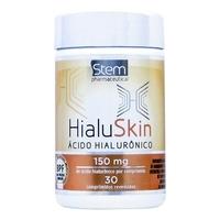 Ácido Hialurônico Stem Hialuskin 150mg, frasco com 30 comprimidos
