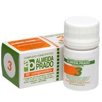 Complexo Homeopático Almeida Prado Nº 3 frasco com 60 comprimidos