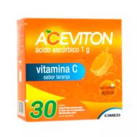 1g, caixa com 30 comprimidos efervescente