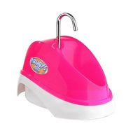 Bebedouro Fonte para Gatos Truqys Pets rosa, 2L