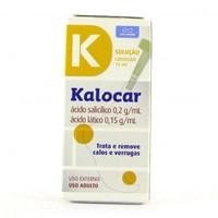 0,2g/mL +0,15g/mL, caixa com 1 frasco com 15mL de solução de uso dermatológico