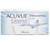 Lente de Contato Acuvue Oasys para Hipermetropia grau +0.50, 3 pares