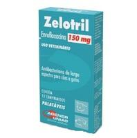 Zelotril - 150mg, caixa com 12 comprimidos