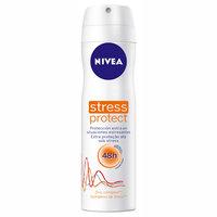 Desodorante Feminino Nivea Stress Protect aerosol com 150mL