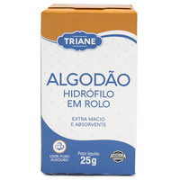 Algodão Triane - hidrófilo, rolo, 25g