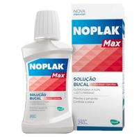 Solução Bucal Noplak Max com flúor, 250mL