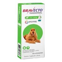 Antipulgas para Cães Bravecto 10Kg até 20Kg, 500mg, pipeta com 1,79mL
