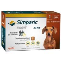 Simparic 5,1 a 10Kg, 20mg, 1 Comprimido