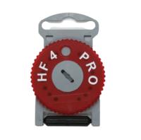 Estojo Filtro para Aparelho Auditivo Direito de Ouvir HF4 - vermelho, protetor de cera com 8 peças, ref.4002