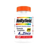 A ao Zinco Hollyfield 3 frascos com 90 cápsulas cada