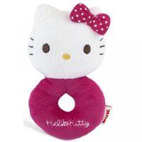 Chocalho de Pelúcia Nuk Hello Kitty, 1 unidade