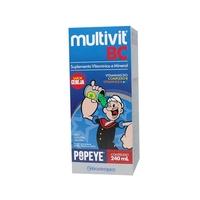 Multivit BC cereja, frasco com 240mL