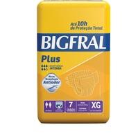 Fralda Bigfral Plus XG, 7 unidades