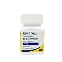 Rimadyl 25mg, frasco com 14 comprimidos