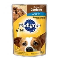 Ração Úmida para Cães Pedigree Vital Pro Adulto Cordeiro, 100g