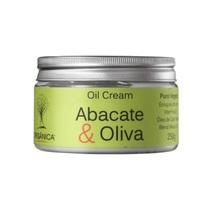 Hidratante Orgânica Oil Cream abacate e oliva com 250g