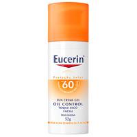 Protetor Solar Facial Eucerin Oil Control FPS 60, 52g