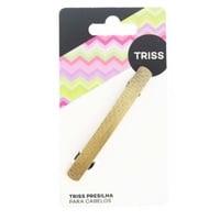 Presilhas Triss dourado, 1 unidade