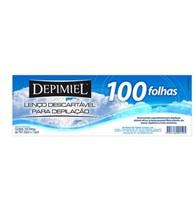 Lenço de Papel para Depilação Depimiel folha com 100 unidades
