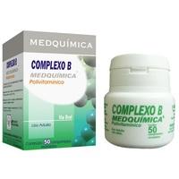 Complexo B Medquímica caixa com 50 comprimidos