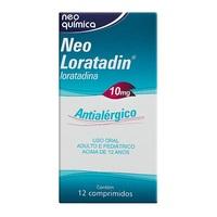Neo Loratadin 10mg, caixa com 12 comprimidos