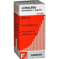 1mg/mL, frasco com 60mL de xarope, pediátrico