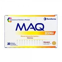 MAQ Derma frasco com 30 cápsulas