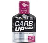 Carb Up Gel Black Probiótica guaraná com açaí, 30g