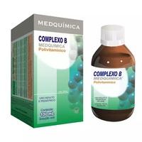 Complexo B Medquímica frasco com 100mL de solução de uso oral