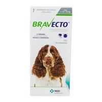 Antipulgas para Cães Bravecto 10Kg e 20Kg, 500mg, caixa com 1 comprimido